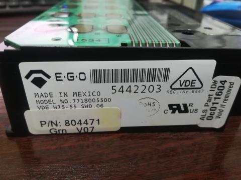 Блок управления Z804471Р для машины стиральной Alliance серии NF3J
