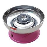 Аппарат для приготовления сахарной ваты Ecolun (диам. 290 мм), розовый