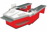 Расчетный стол Golfstream Оресса-Л/П-ТД8/8-НУУ-0