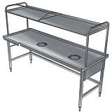Стол для сортировки посуды Electrolux BHST2208L 865339