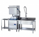 Машина посудомоечная купольная Dihr HT 12