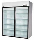 Холодильный шкаф Enteco Случь 1400 литров стеклянная дверь