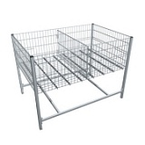 Стол для распродаж хромированный Shols 0392-120-80