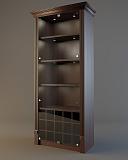 Шкаф для элитного алкоголя Евромаркет LD 005