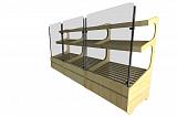 Стеллаж для хлеба Фабрика Авторской мебели Роттердам остекленный