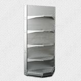 Стеллаж пристенный Микрон К25 угол внутренний H2400