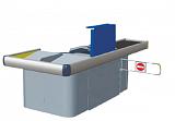 Расчетный стол Golfstream Оресса-Л/П-БТД6/6-НУУ-0 без транспортерной ленты