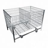 Стол для распродаж хромированный Shols 0400-120-80