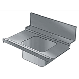 Стол д/гряз.посуды Electrolux BHRPIB10L 865331