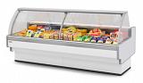Холодильная витрина Brandford Aurora Slim Закрытый угол 90 вентилируемая