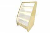 Стеллаж для хлеба Фабрика Авторской мебели Авокадо остекленный
