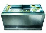 Охлаждаемый прилавок для ручного декорирования джелато Isa Bmix 132 A H117