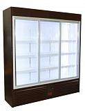 Холодильный шкаф Glacier ВВ-1500 (трёхдверный, узкий)