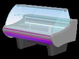Кондитерская витрина Enteco Немига Standart 150 ВВ(K) на опорах