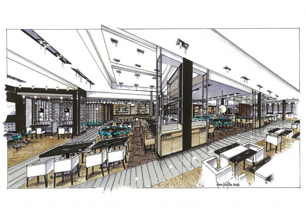 Дизайн помещения ресторана
