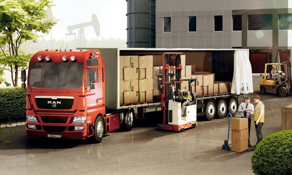 Доставка оборудования на предприятия